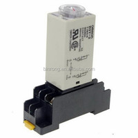 H3Y-2 Power On Time Delay Relay Timer DPDT 8 Pins With Socket 220V 0-30S