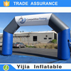 Custom made with your logo advertising inflatable arch for race