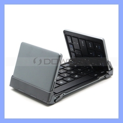 Tri-folding Magnetic Universal Bluetooth Keyboard for IOS Android Windows