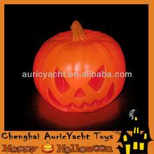 halloween lighted pumpkins, led orange light halloween pumpkin ZH0906585