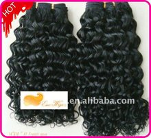 Factory wholesale French weave 100% humanhair wefts 6-32inch length