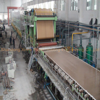 Hot sale 4300/350 fourdrinirt multi-cylinder paper board making machine