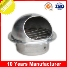 HVAC ventilation waterproof stainless steel air exhaust cover for kitchen