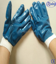 sandy nitrile double dipped glove working gloves water/oil proof safety cut gloves