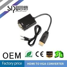 SIPU Factory price av to vga monitor converter av to vga adapter