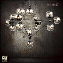 FLOSE MD-9047 Contemporary MODO chandelier,filament lamp iron pendant light,modern lighting lamp,modern hanging lamp
