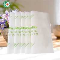 Custom printed food grade wrap paper greaseproof paper for burger wrapping
