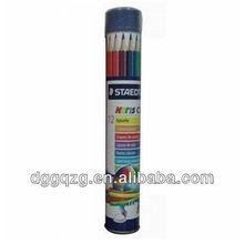 round tin pencil case
