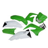 Full kit ABS plastic fender headlight shrouds KLX150S 2009-2012 motorcycle fairings for sale