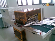 CHY-4550ALA370 made by trade assurance supplier case the pneumatic driven L type designed pof heat sealing machine