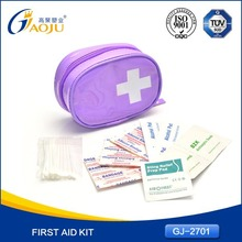 Free sample available waterproof material 2013 promotion first aid kit for burns burncare ki