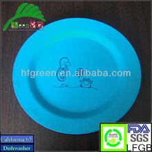 BIODEGRADABLE NON-TOXIC ECO DINNERWARE,BIO DINNER SETS,UNBREAKABLE KITCHENWARE,REUSABLE TABLEWARE,ECO BAMBOO FIBER KIDS PLATE