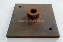 building fasten materials square waller plate used with tie rod