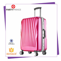 2015 New Products Hard Aluminium Frame ABS+PC Luggage
