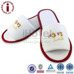 Soft And Comfortable Lady Open Toe Flat Slipper