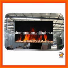 Mirrored Wall Mounted Electric Fireplace With CE,UL,GS