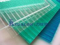 Grade A 4/5/6/8/12mm Polycarbonate Hollow Sheet