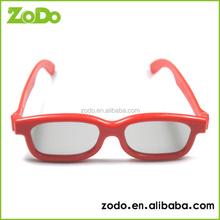 Reusable circular polarized personal cinema imax 3d Video glasses
