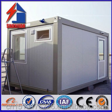 Low cost prefabricated underground container wood houses for Prefabricated underground homes
