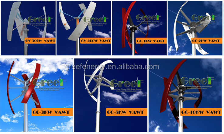 3kw 3phase dc motor wind turbine, low price high quality