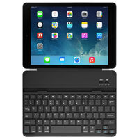 energy saving slim bluetooth aluminum tablet keyboard cover with magnet stand