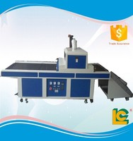 High speed Easy adjusted conveyor belt universal uv curing machines for screen printing TM-800UVF-L
