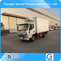 jac 5 tons used refrigerated truck