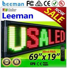 led taxi sign 3w rgb 4-pin led programmable led moving message sign board