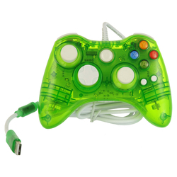 Hot selling wired gamepad controller for xbox360 video games accessories/wired game pad for xbox 360
