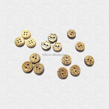 2015 yiwu ririfa new style Natural coconut button,4-Holes button,Natural buttons