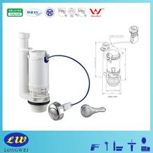 Toilet Tank Flush Valve Cable Dual Flush Lever or Push Button Optional WRAS CUPC CE Certificate