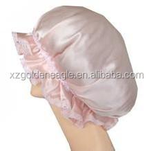 100% mullberry silk bonnets