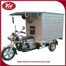 China Kavaki Brand Tricycle Scooter For Adults With Close Carriage