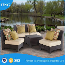 Patio Classic Wicker Sofa Fair Price for Sale RZ1822
