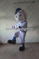 NO.2819 popular mr met mascot costumes