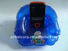 fashion inflatable chair shape mobile phone holder