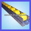 plastic wheels roller track for tube rack