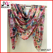 Wholesale 2014 new fashion double side print brand handkerchief