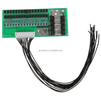 2015 New High Standard 48V 30A 16 cells LiFePo4 Lithium iron Battery Pack Charger BMS Protection Board Balancing