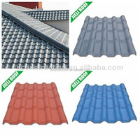 Lightweight spanish tile roof for private house