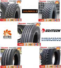 Thailand markets popular all steel truck tire sizes 295/80R22.5 315/80R22.5 from BIG manufacturer