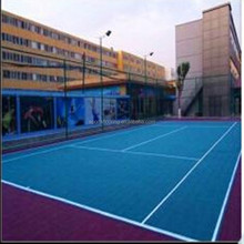 Professional Designed ,Chinese Basketball &Futsal Court used,PP Suspended Thick &Elastic Sports Flooring