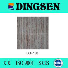 60x60 cm lightweight pvc waterproof suspended ceiling tiles for roof decor