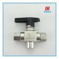 6000 psi trunnion ball valve for cng dispenser