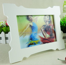 MDF wood picture frames wholesale table frame baby pictures