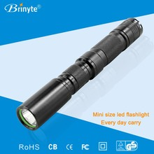 Mini Adjustable Length Aluminum LED Maglite Torches