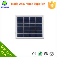 5W cheap price Solar Panel for Charging Batteries