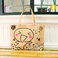 logo printed cotton bag,fashion design cotton bag with short handle,cloth drawstring small cotton bags