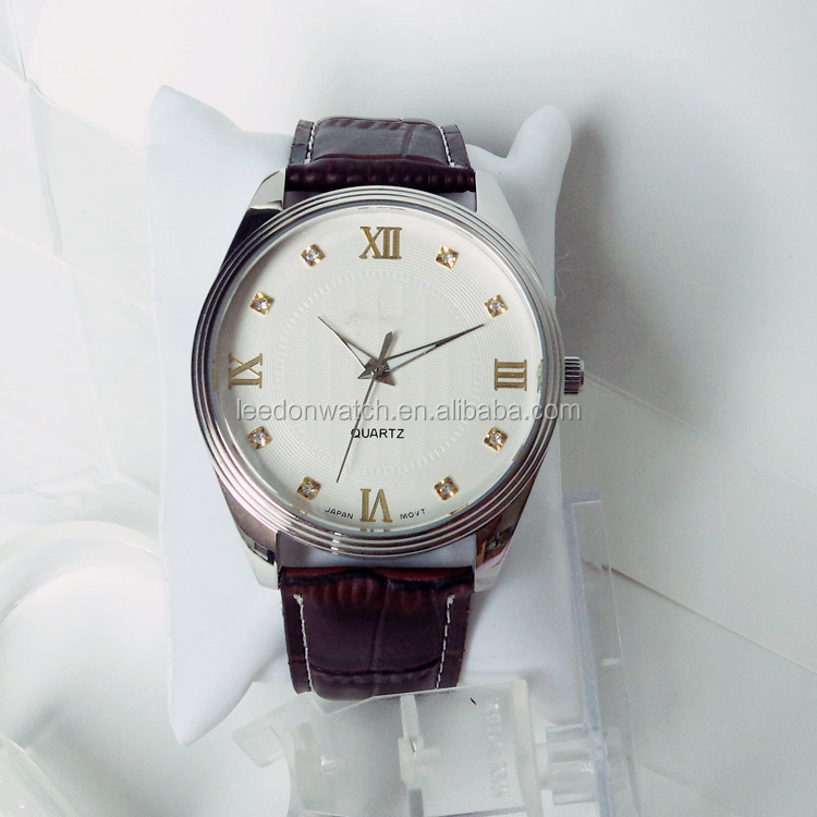 Water resistant japan movt quartz watch stainless steel back buy japan movt quartz watch for Celebrity quartz watch japan movt