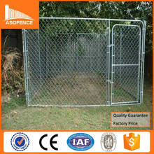 Heavy duty galvanized 6x10x6 dog kennels/ large 6x10x6 dog kennels